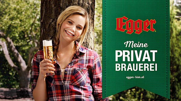 New brand launch of the private brewery Egger