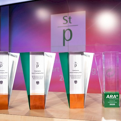"Radlberger LIMÖ receives state award ""Smart Packaging"" in the category ""Branding"" for the newly developed reusable glass bottle"